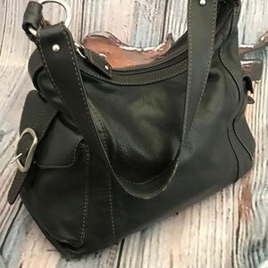 🍁 Sale 2x$28 ETIENNE AIGNER Black Shoulder Bag